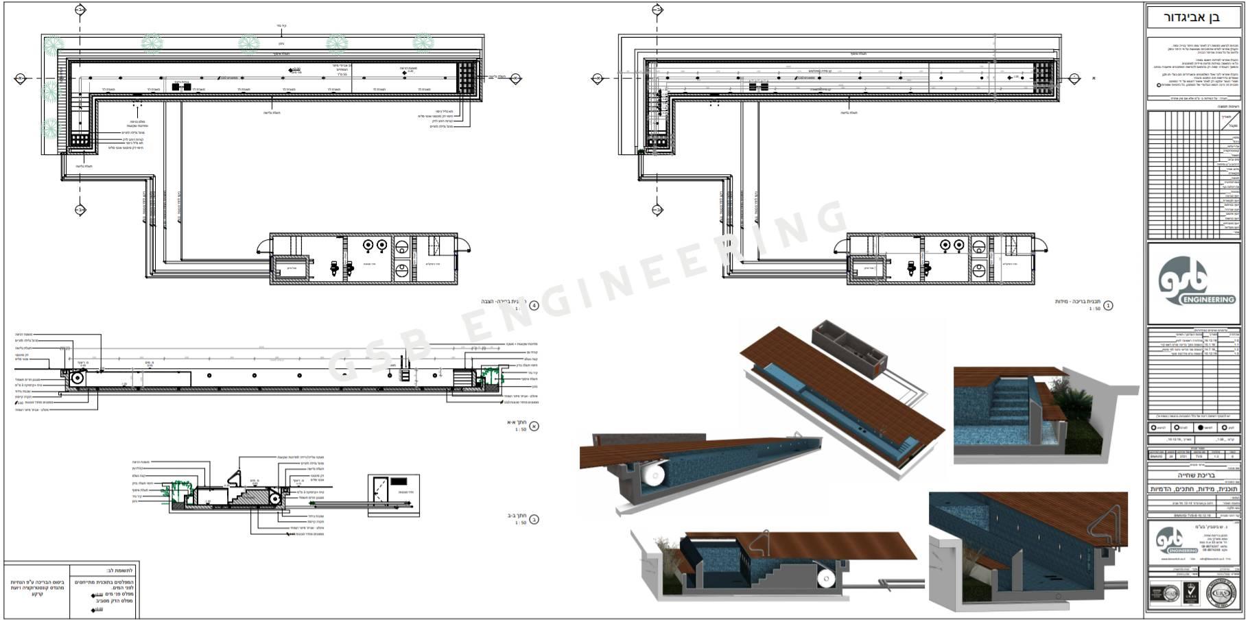 תכנון בריכת גג מסוג Infinity במלון רדיסון