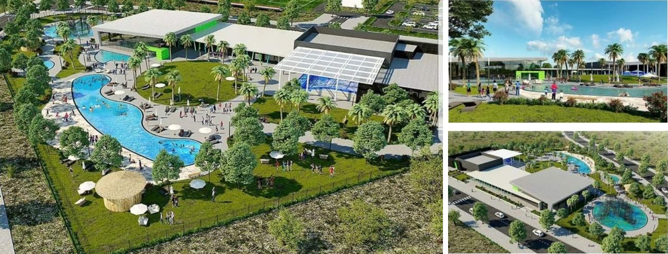 תכנון בריכות שחייה ושעשועים בפארק המים החדש במודיעין
