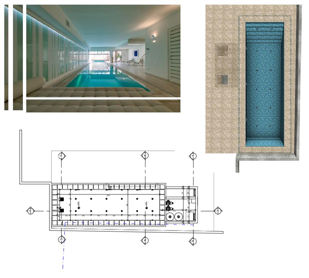 תכנון בריכות שחייה במרתפים